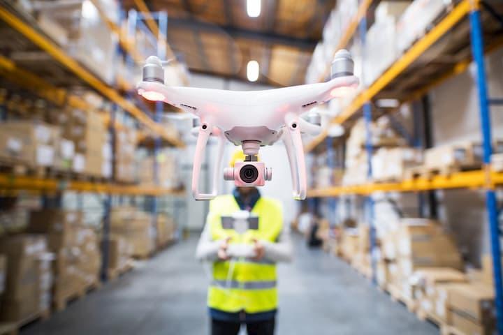 Drone com câmera, ideal para segurança privada